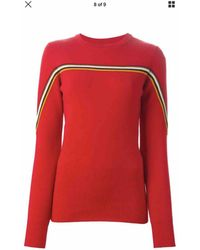 Isabel Marant - Pre-owned Red Wool Knitwear - Lyst