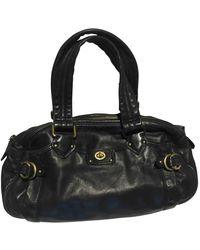 Marc By Marc Jacobs Classic Q Leather Handbag - Black