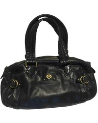Marc By Marc Jacobs Classic Q Leather Handbag - Black