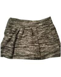 Étoile Isabel Marant Wolle Mini Rock - Grau