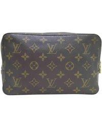 Louis Vuitton Leinen Reisetaschen - Braun