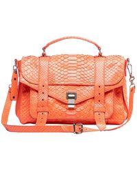 Proenza Schouler Ps1 Python Handbag - Pink