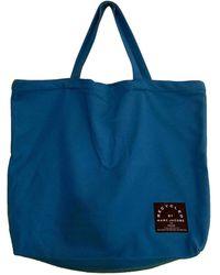 Marc By Marc Jacobs Turquoise Cotton Bag - Blue