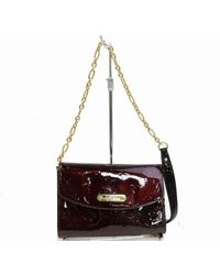 Louis Vuitton - Purple Patent Leather Handbag - Lyst