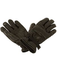 Moncler - Pre-owned Leather Gloves - Lyst