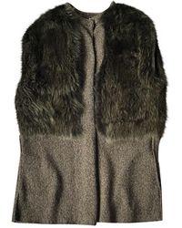 Marni Wool Coat - Grey