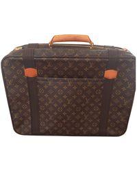 Louis Vuitton Satellite Leinen Reise tasche - Mehrfarbig