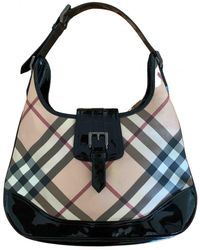 Burberry Borsello in Tela - Multicolore