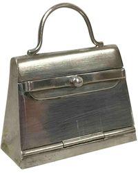 Hermès Accessorio per borse in argento argentato Kelly - Multicolore