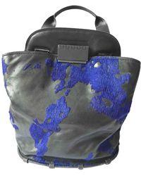 Zac Posen Leather Handbag - Black