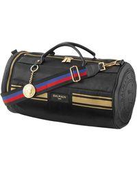 Balmain Black Leather Handbag