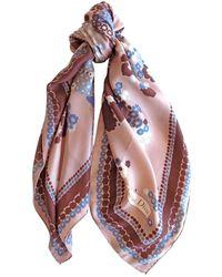Dior \n Multicolor Silk Scarf