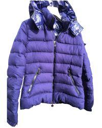 Moncler Classic Wool Puffer - Blue