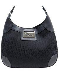 Dior Borsa a mano in tela nero