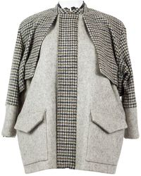 SUNO Gray Wool Jacket