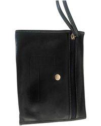 Lancel Leather Clutch Bag - Blue