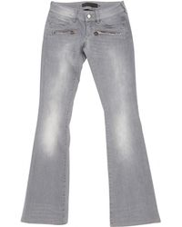 Barbara Bui - Pre-owned Grey Cotton Jeans - Lyst