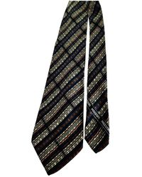 Missoni Multicolor Silk Ties - Black