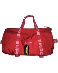 Supreme - Pre-owned Weekend Bag - Lyst