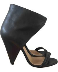IRO - Pre-owned Leather Sandals - Lyst