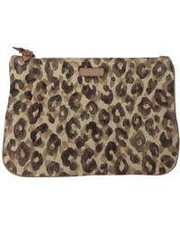 Zimmermann Multicolour Cotton Clutch Bag