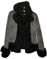 Dior Vintage Grey Mongolian Lamb Coats
