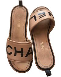 Chanel Leather Mules - Multicolor