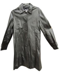 Claudie Pierlot - Leather Coat - Lyst