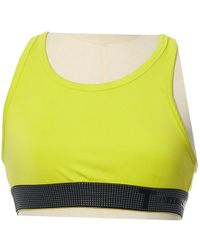 T By Alexander Wang - Yellow Viscose Top - Lyst