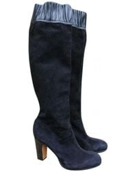 Vanessa Bruno - Pre-owned Black Suede Boots - Lyst