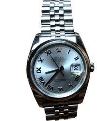 Rolex Datejust 36mm Uhren - Mehrfarbig