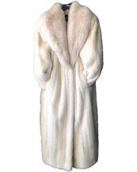 Dior Abrigo de Visón - Neutro