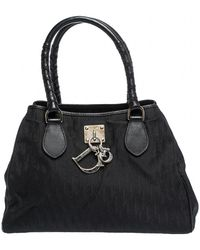 Dior Charming Leather Satchel - Black