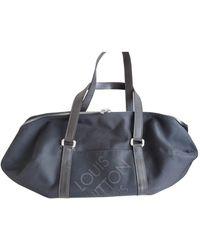 Louis Vuitton Cloth Weekend Bag - Black