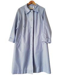 Balmain Trench Coat - Blue