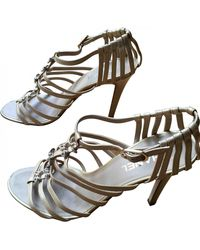 Chanel Leather Sandals - Natural