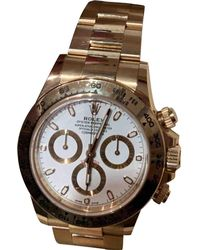 Rolex Pre-owned Daytona Gold Yellow Gold Watches - Metallic