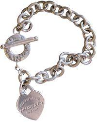 Tiffany & Co. Return To Tiffany Silver Bracelet - Metallic