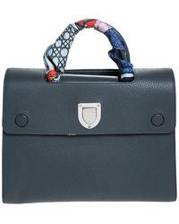 Dior Ever Grey Leather Handbag - Gray