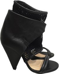 IRO - Black Leather - Lyst