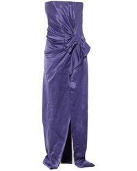 Lanvin Purple Linen