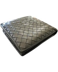 Bottega Veneta Leather Small Bag - Black