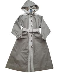 Zimmermann Trench Coat - Grey