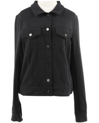 T By Alexander Wang Black Polyester Jacket