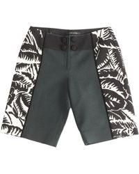 Marc Jacobs - Green Cotton Shorts - Lyst