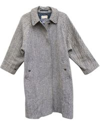 Burberry - Pre-owned Vintage Other Wool Coat - Lyst