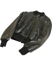 Chanel - Pre-owned Leather Jacket - Lyst