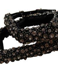 Carven Black Chain Belts