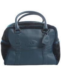 Mulberry Green Leather Handbag