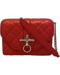 Givenchy Obsedia Leather Crossbody Bag - Red